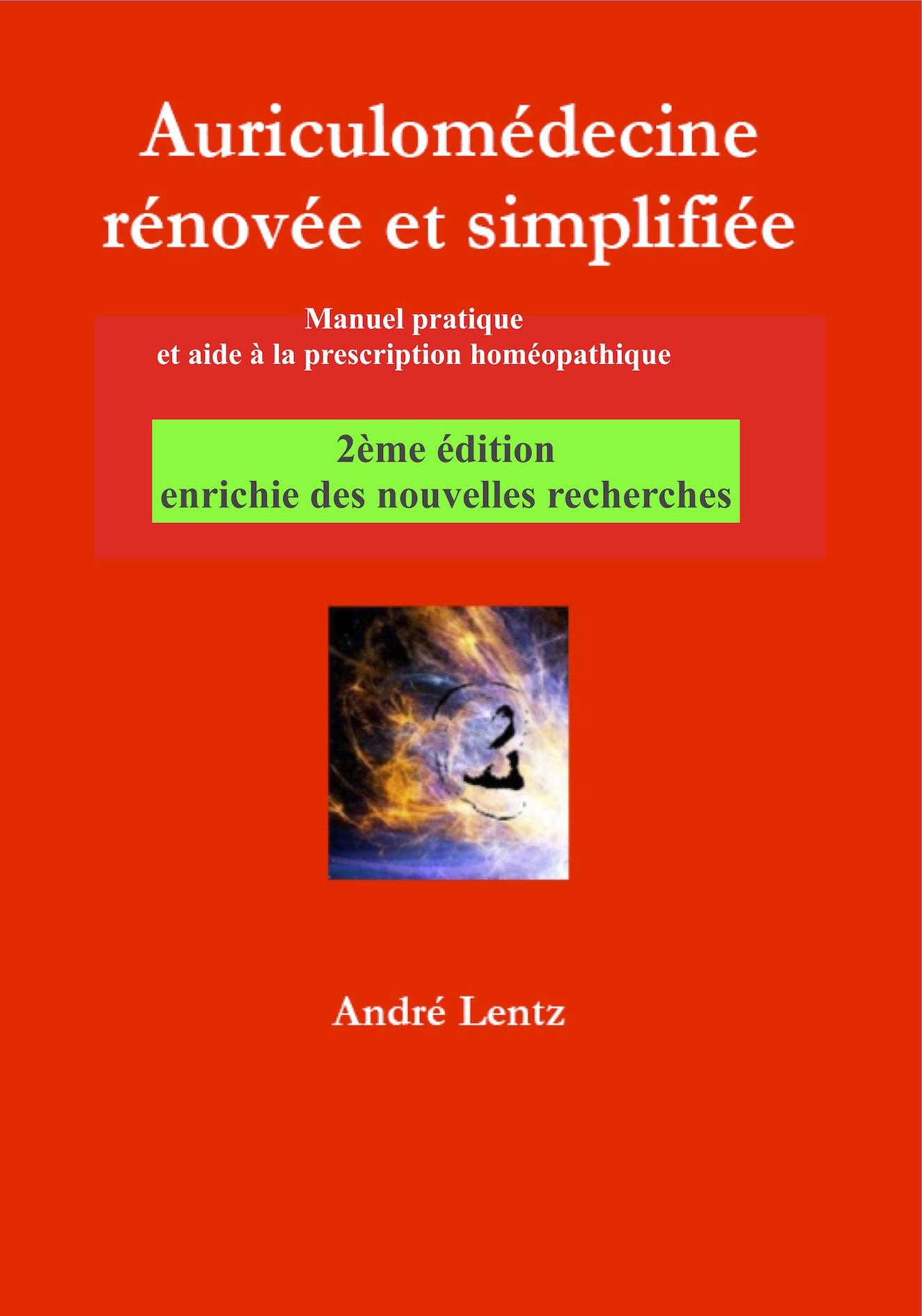 A.LENTZ Auriculomédecine rénovée et simplifiée 2ème édition-LIALEN03-FR