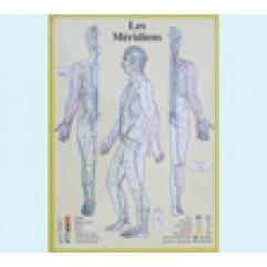 J. V. BAARLE 21x30 Méridiens - FR  - plastifiée-PLJVBA021-FR