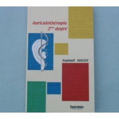 R. NOGIER   Auriculothérapie 2ème degré - Edit. SAURAMPS MEDICAL-LIRNOG06-FR