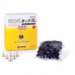 MOXA POUR AIGUILLES SS FUMEE ET SS ODEUR (6 supports. - 100 pastilles)-MOXSAFE-100