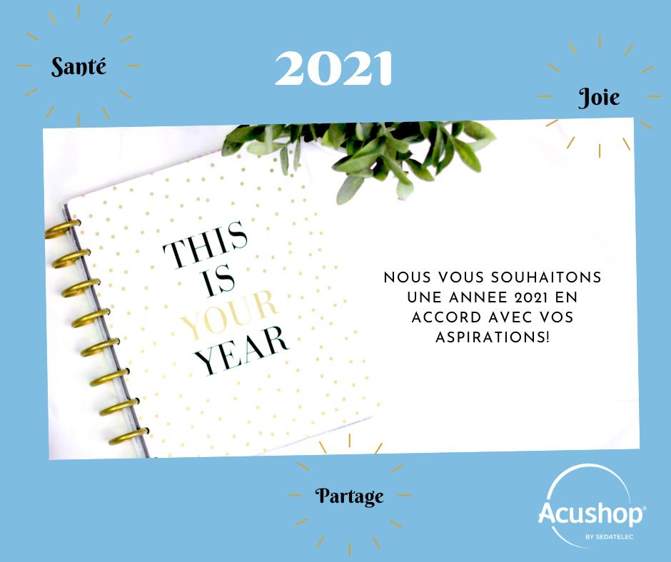 Voeux de la nouvelle année 2021